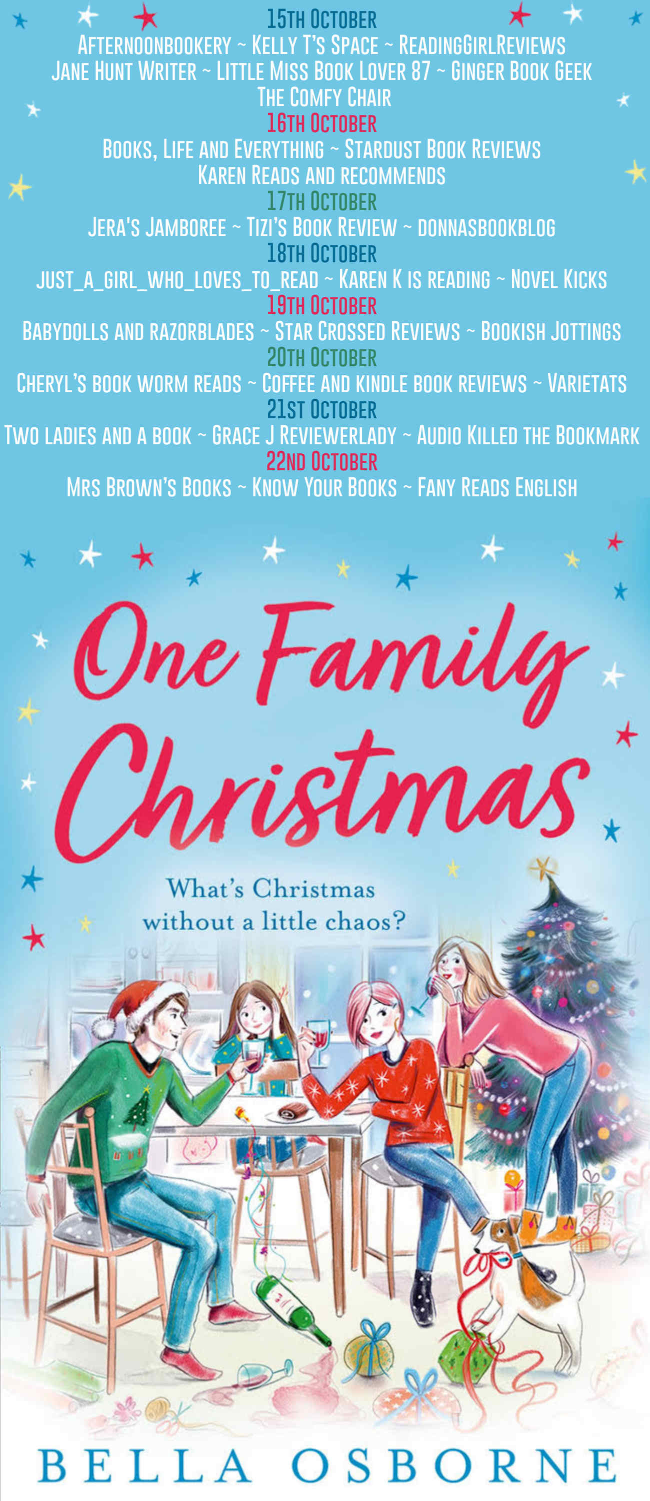 One Family Christmas Full Tour Banner