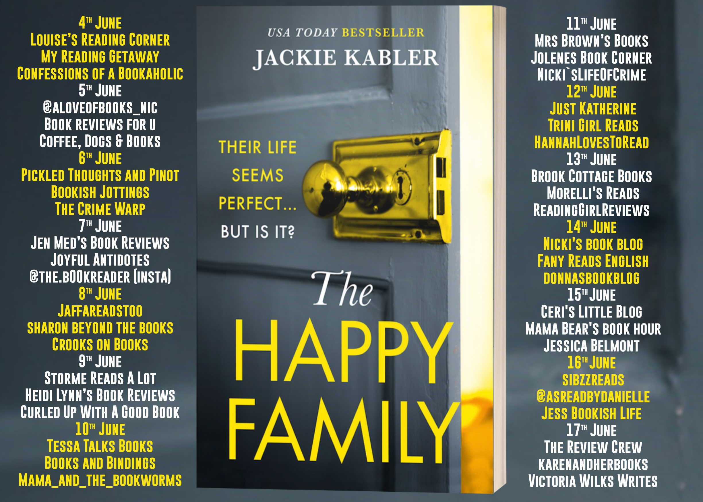 The Happy Family Full Tour Banner