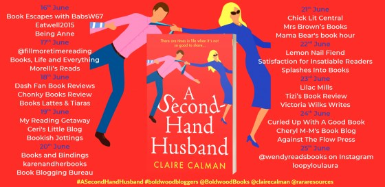 A Second Hand Husband Full Tour Banner