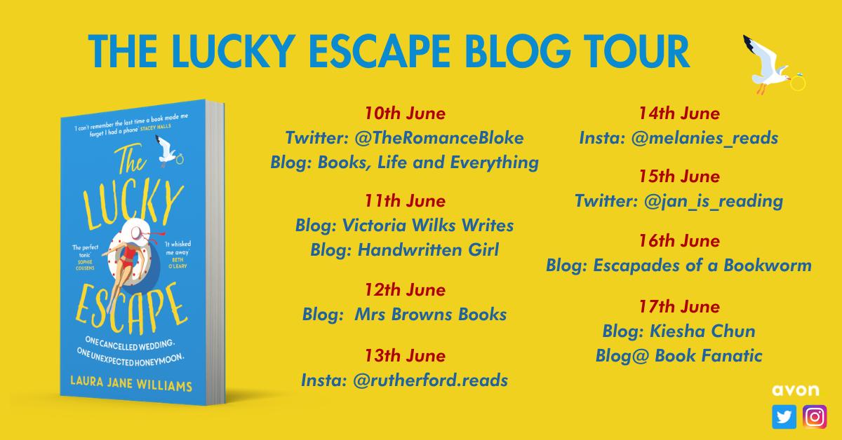 The Lucky Escape - FB - Blog Tour (1)