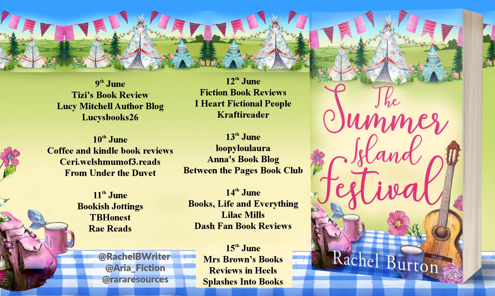 The Summer Island Festival Full Tour Banner